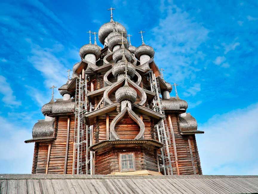 Церковь преобразования, погост Кижи, Россия