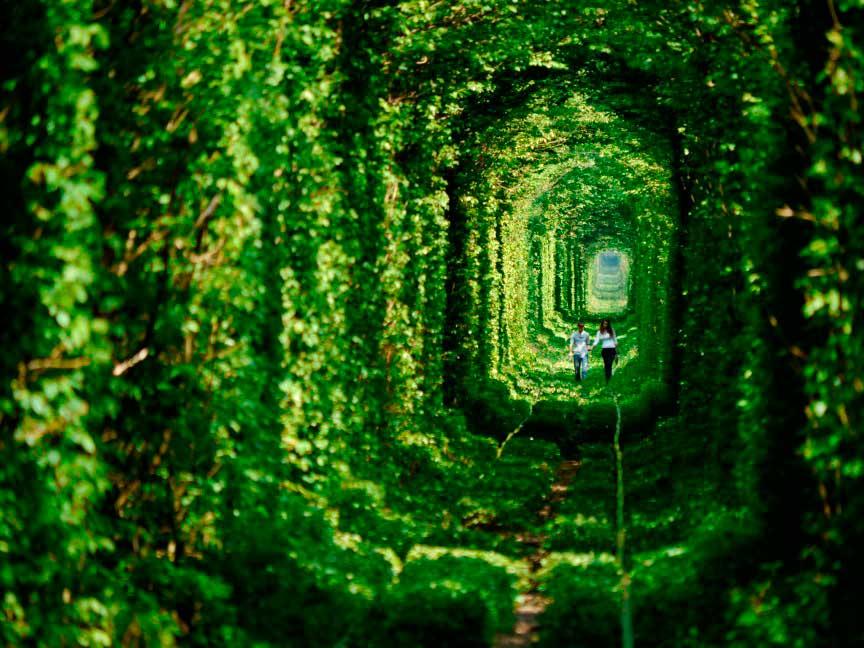 Тоннель любви, Украина