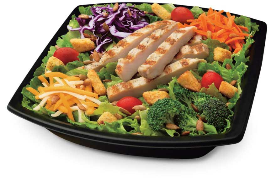Chick-fil-A жареный салат