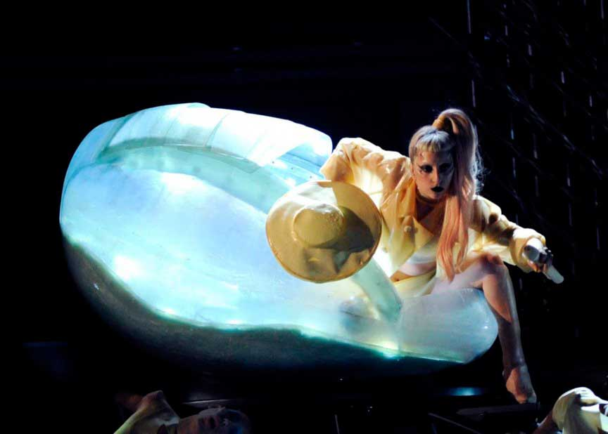 Леди Гага - нетрадиционные привычки