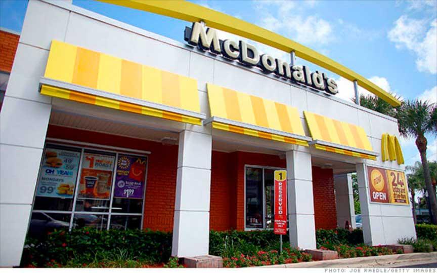 Фрукты McDonald's и парфе йогурт: 150 калорий