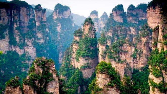 Горы Тяньцзи – Провинция Хунань, Китай