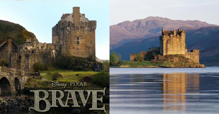 Храбрая сердцем»: Шотландия