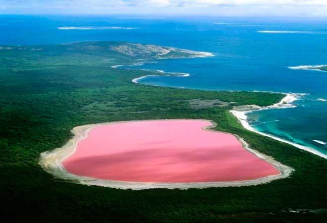Озеро Хиллер – остров Мидл Айленд, Австралия