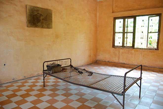 Музей геноцида Tuol Sleng, Камбоджа