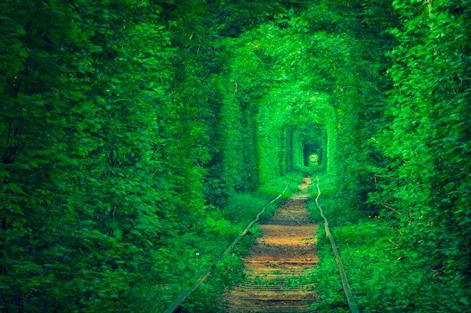 Туннель Любви – Клевань, Украина