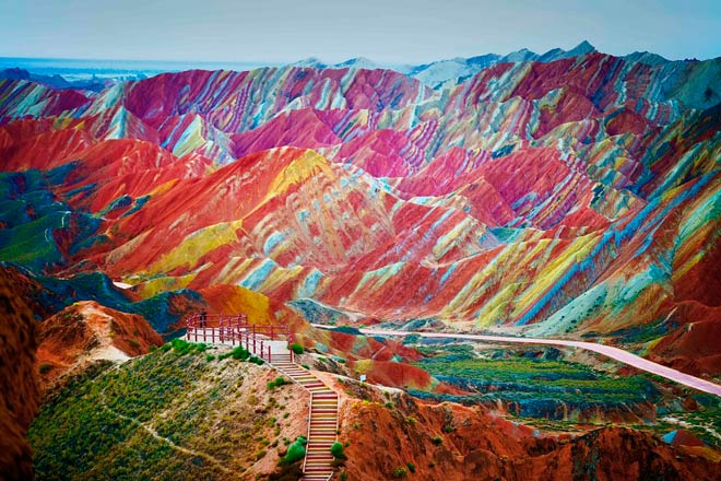 Национальный Геологический Парк Чжанъе Данксия  – Китай