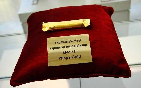 Золотой Кэдбери Виспа (Cadbury Wispa Gold)