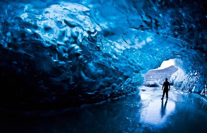 Кристальная пещера – Национальный Парк Скафтафетль, Исландия