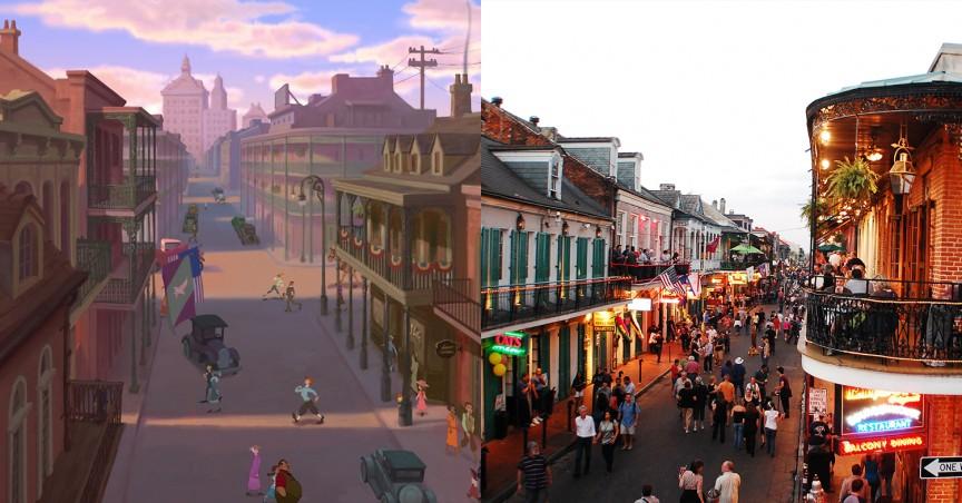 «Принцесса и Лягушка»: Новый Орлеан, Луизиана
