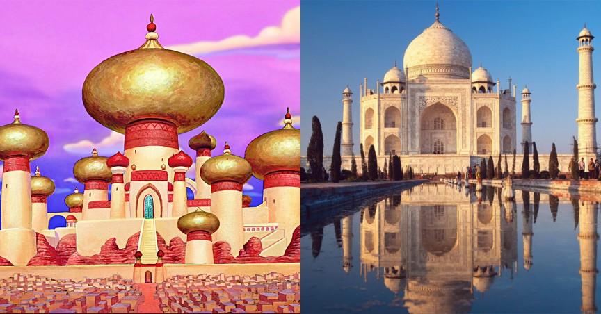 Дворец Алладина: Тадж-Махал (Taj Mahal) в Индии