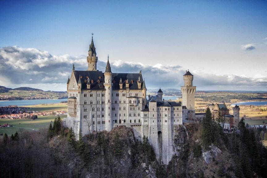 Замок Спящей Красавицы: Бавария, Германия