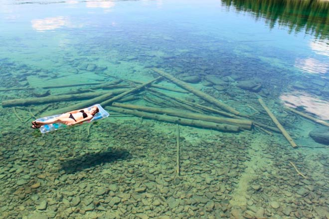 Озеро Флатхед – штат Монтана, США