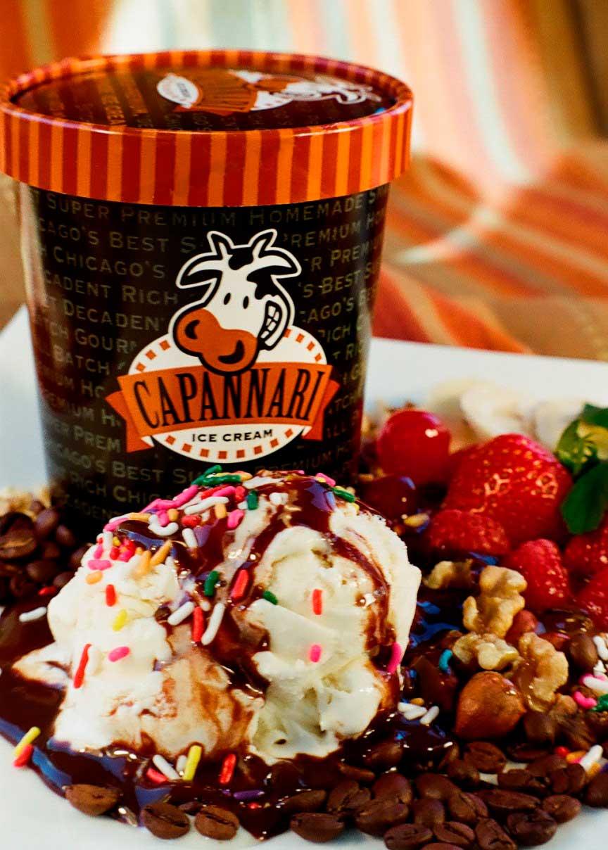 Мороженое Capannari: 190$