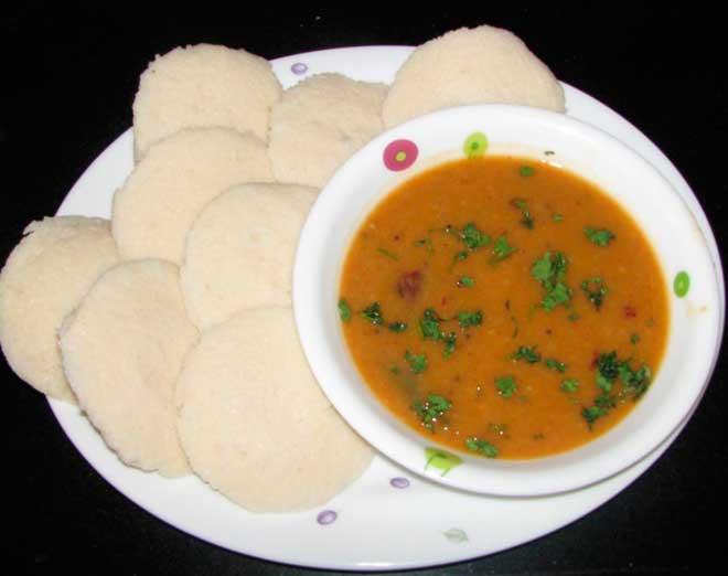 восхитительный завтрак Индии