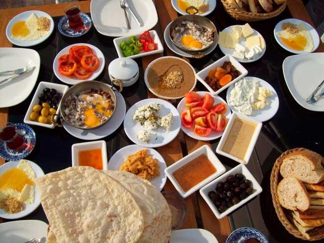 восхитительный завтрак Саудовской Аравии