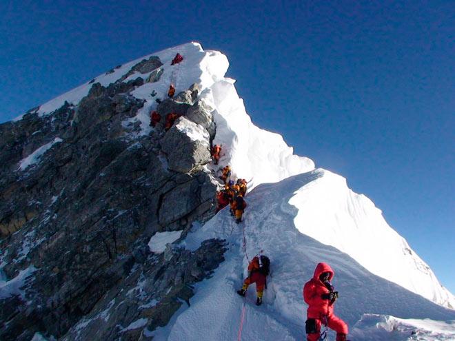 Восхождение на Гору Эверест