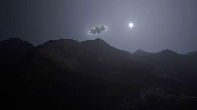 3 НЛО в горах Беруина