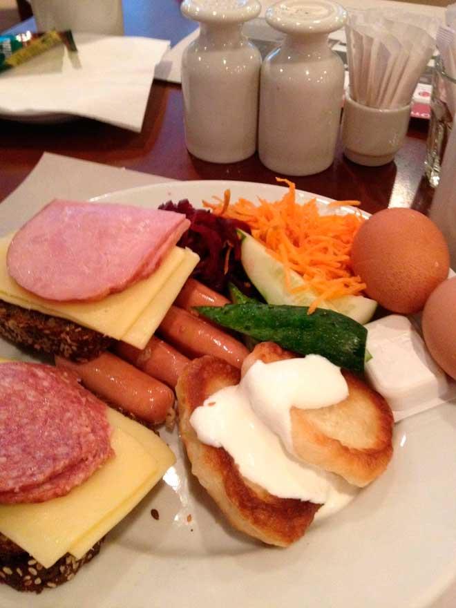 восхитительный завтрак России