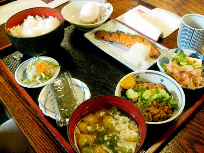 восхитительный завтрак Японии