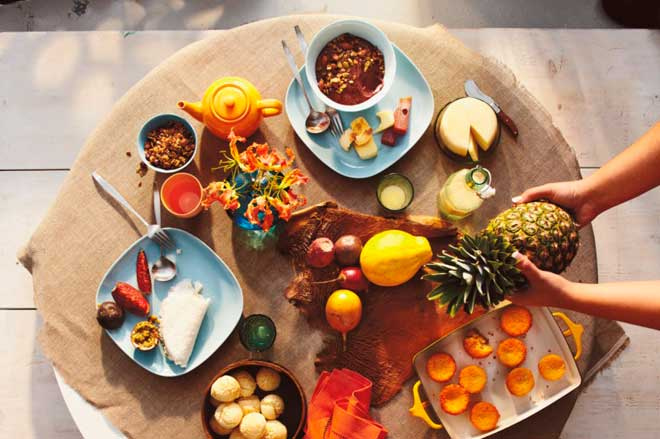 восхитительный завтрак Бразилии