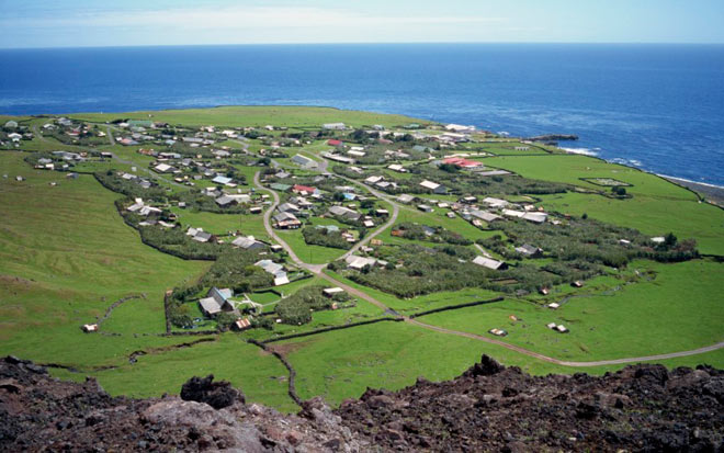 Исследование Тристана да Куны Исланда