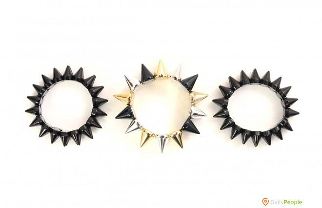 Зубчатые Кольца/Ожерелья