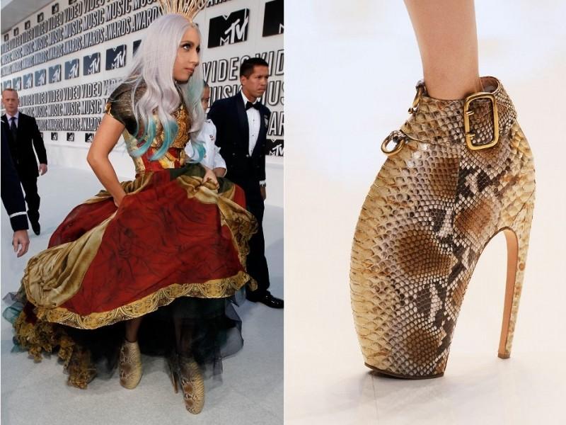 Alexander McQueen, Armadillo Heels, $3900-$10000 за пару