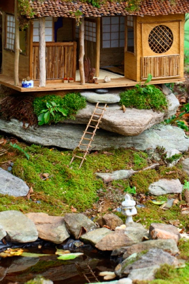 Волшебный сад в японском стиле