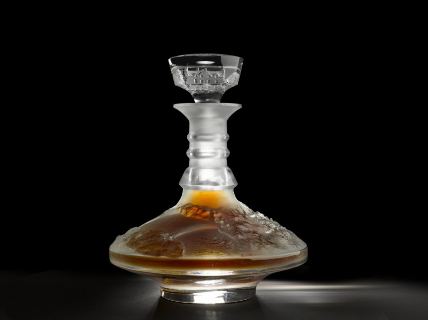 Маккалан, 64-летний скотч в «Лалик» (Macallan 64 Year Old in Lalique) - 460 000 долларов