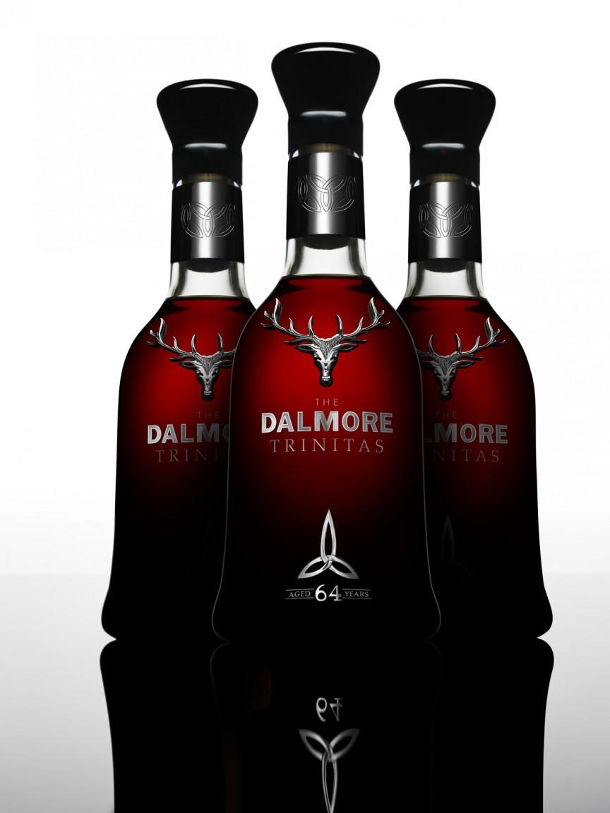Далмор, 64 года, «Тринитас» (Dalmore 64 Trinitas) - 153 360 долларов