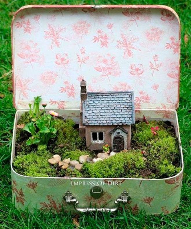 Волшебный сад в чемодане