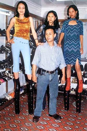 James Syiemiong, сапоги на платформе, цена неизвестна