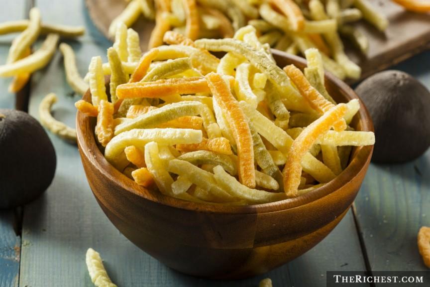 Вегетерианский жареный картофель