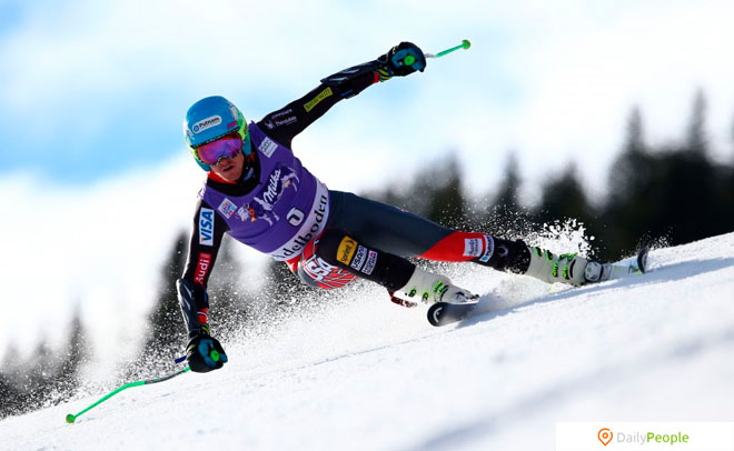 Тед Лайджети – Альпийский Лыжник