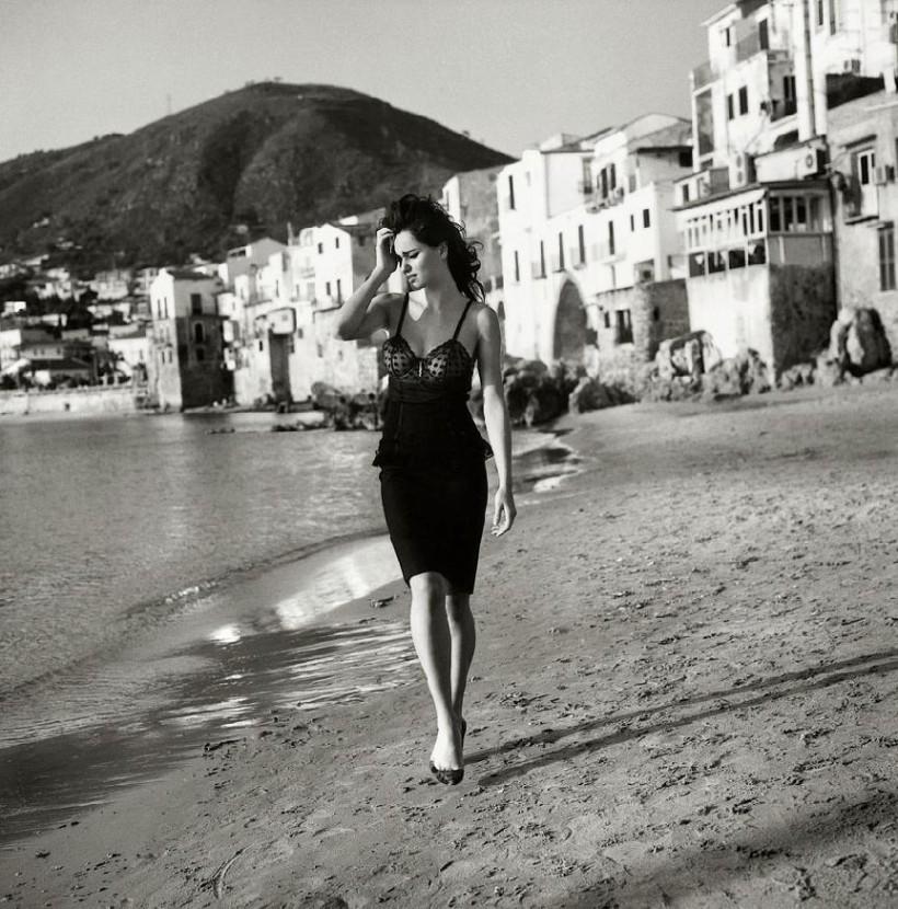 черно-белые фото девушек того времени