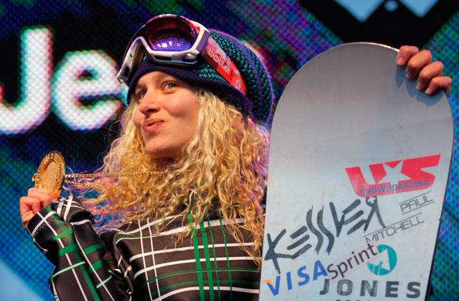 Линдси Джейкобеллис – Сноубордист