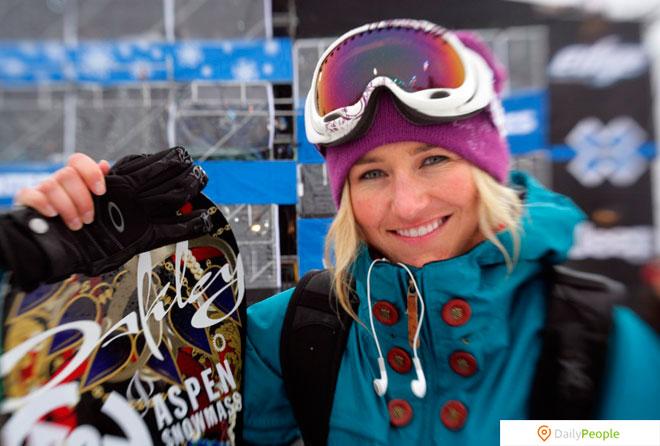 Гретхен Блейлер – Сноубордист
