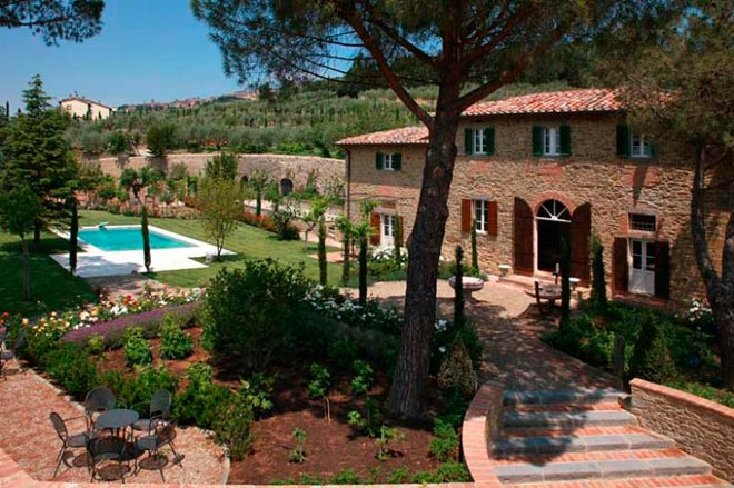 Дом Bramasole: «Под солнцем Тосканы»
