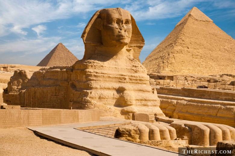 Пирамиды Египта и великий сфинкс Гизы
