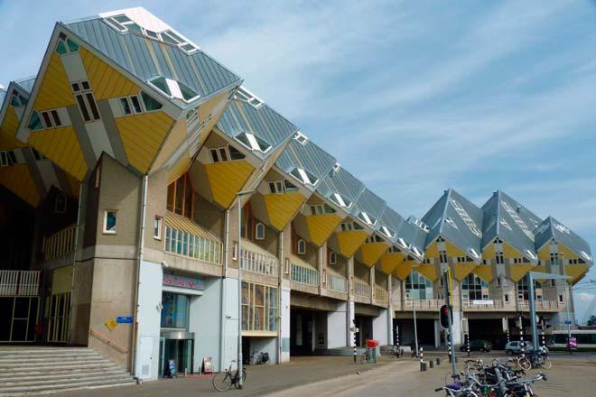 Дом - куб – Роттердам, Нидерланды
