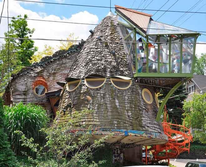 Грибной дом – Цинциннати, Огайо, США