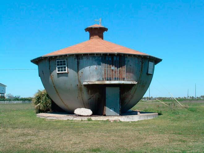 Дом - чайник – Галвестон, Техас, США