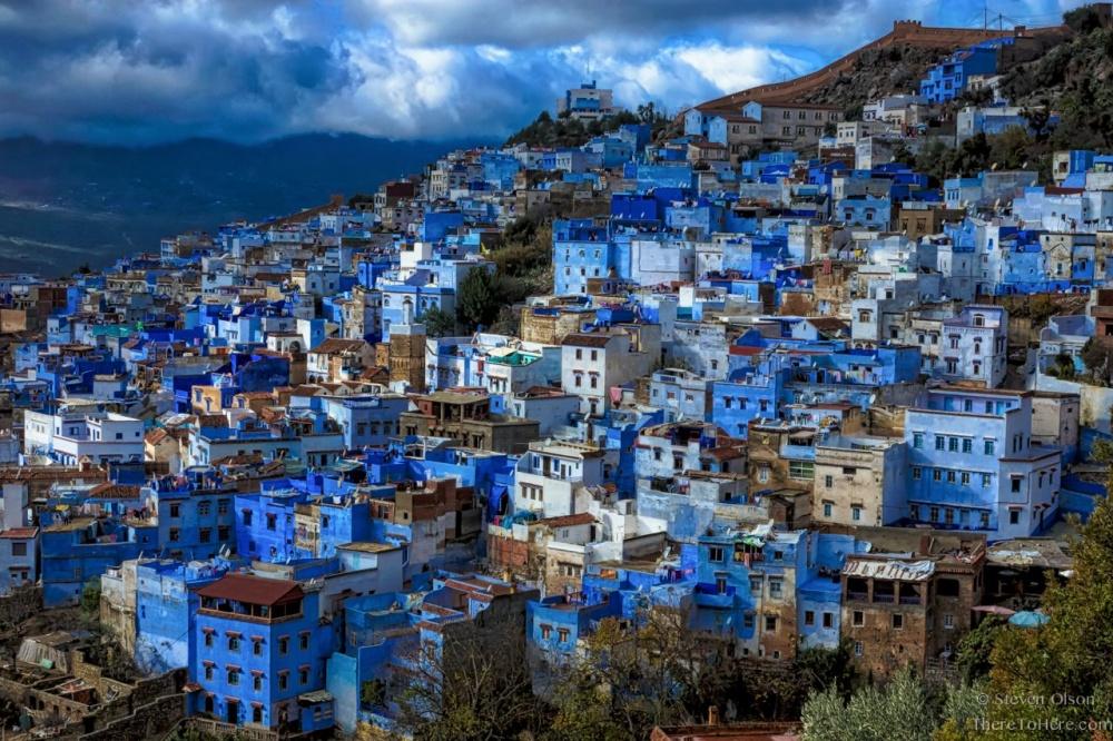Шефшауен в северо-западном Марокко
