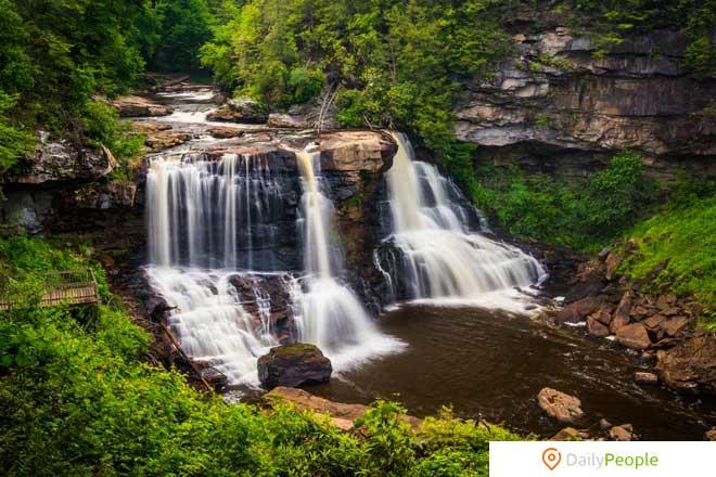 Блэкуотерский осенний национальный парк, Западная Вирджиния