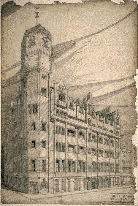 Офисное здание Glasgow Herald, Глазго, Шотландия Подробнее: Чарльз Макинтош: 10 удивительных работ бунтаря-архитектора http://tsargrad.tv/news/2016/12/29/charlz-makintosh-10-udivitelnyh-rabot-buntarja-arhitektora