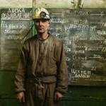 Игорь Воронкин на шахте в Баренцбурге, архипелаг Шпицберген, Норвегия.