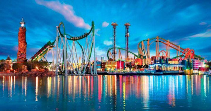 10 самых популярных компаний владеющих тематическими парками развлечений в мире